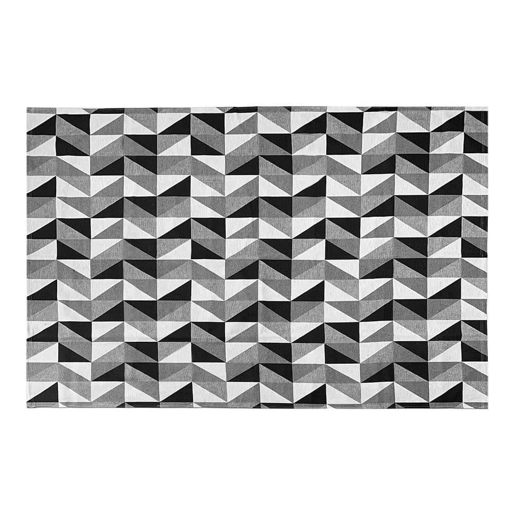 Tapete de Sala Contemporâneo Dubai Antiderrapante 2,00m x 1,32m - Cinza