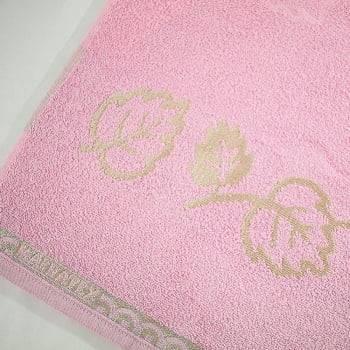 Toalha de Rosto 450gm² Veneza 80 x 48 cm - Rosa