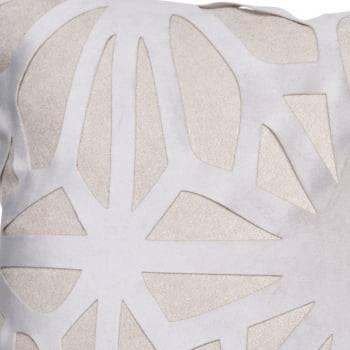 Capa de Almofada Almofada Artesanal 30cm x 45cm Baguete Cristal