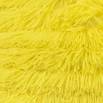 Capa de Almofada Texturizada Ondas Amarelo 45cm x 45cm