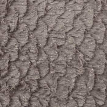 Capa de Almofada Texturizada Sereia Marrom Claro 45cm x 45cm