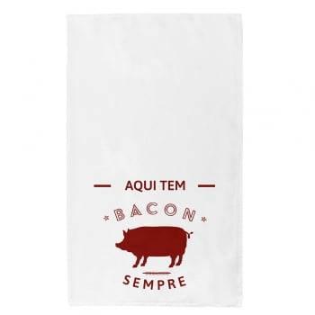 Kit de Pano de Prato Bacon Sempre 43 cm x 72 cm 3 Peças