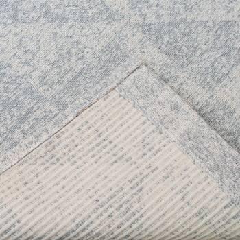 Tapete de Sala Contemporâneo London Antiderrapante - Cinza