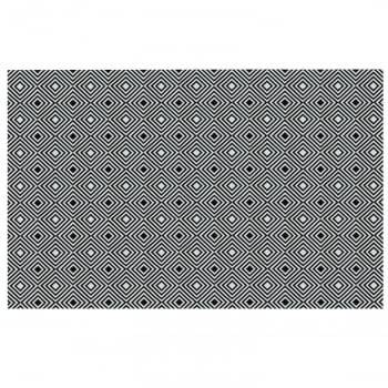 Tapete de Sala Contemporâneo Onix Antiderrapante 1,50m x 2,00m