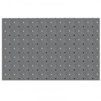 Tapete de Sala Contemporâneo Onix Antiderrapante 1,50m x 3,00m