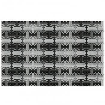 Tapete de Sala Contemporâneo Quartzo Antiderrapante 1,50m x 2,00m