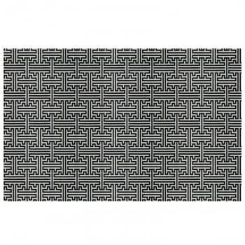 Tapete de Sala Contemporâneo Quartzo Antiderrapante 1,50m x 3,00m