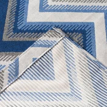 Tapete de Sala Oslo Antiderrapante 1,50m x 2,00m - Azul Bebê