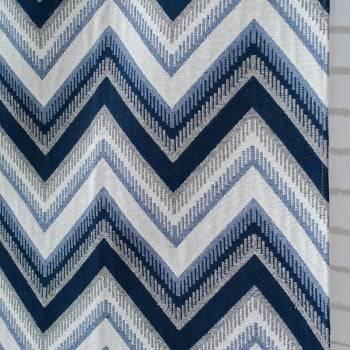 Tapete Pequeno para Sala ou Quarto Oslo Antiderrapante 1,50m x 1,00m - Azul