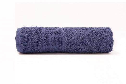 Toalha de Piso em Algodão  Linha Pé 75 x 48 cm - Azul Marinho